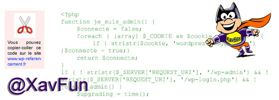 code source wordpress