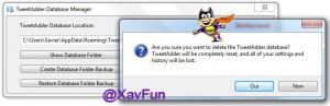Delete Database Folder