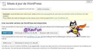 wordpress 3.6 fr