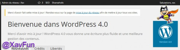 Wordpress MU 4.0