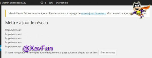 mise à jour WordPress MU 4.0