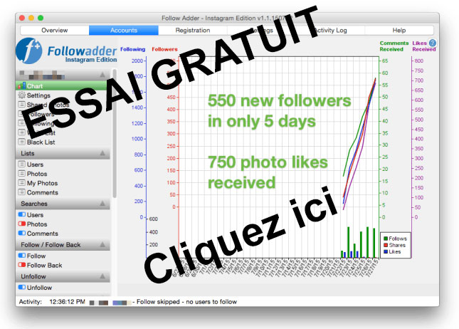 FollowAdder gratuit