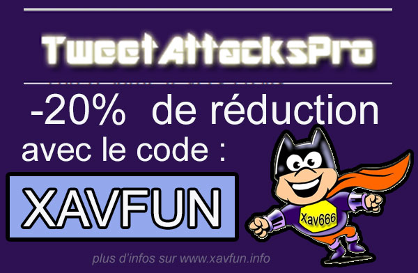 code réduction TweetAttacksPro 3