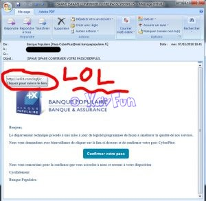 Le phishing : redoutable et efficace