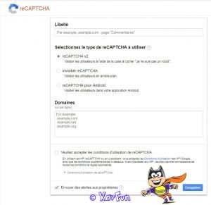 Marre du Spam ? Essayez Re Captcha !