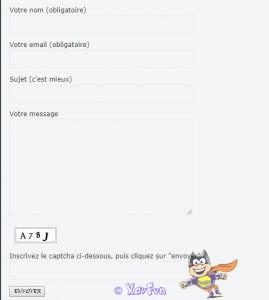 Contact Form 7 Captcha