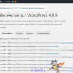 mise à jour wordpress 5
