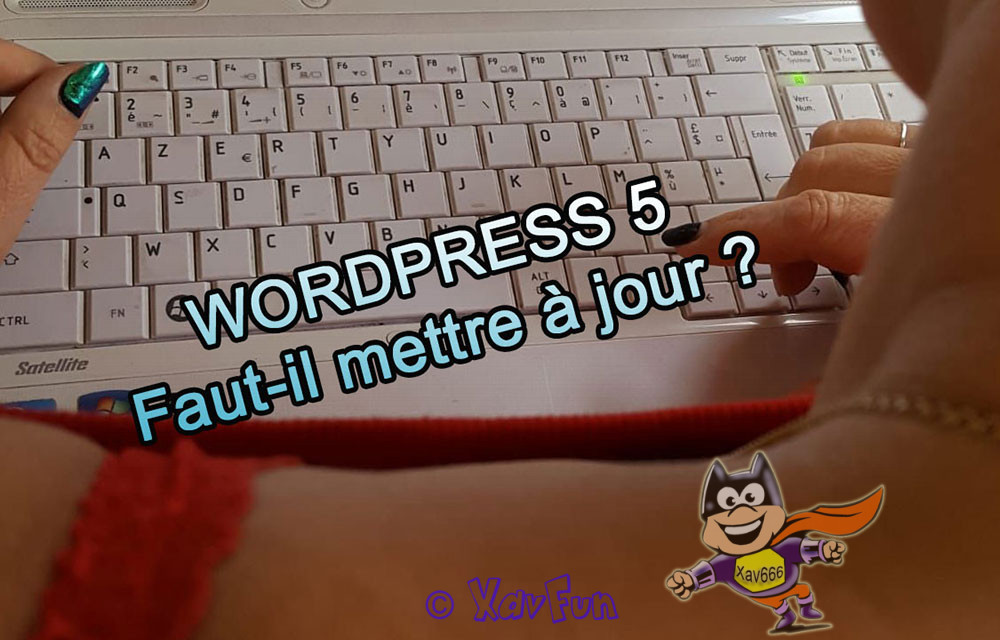 Attention à la mise à jour WordPress 5