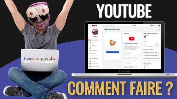créer un compte youtube pour les nuls