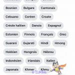quelle langue parlez-vous ?
