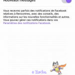 notification rencontres facebook